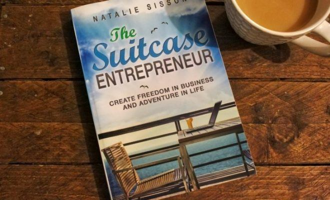 The Suitcase Entrepreneur by Natalie Sisson Book Review Roseanna Sunley