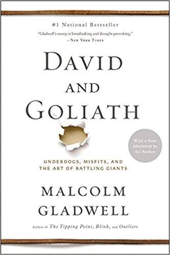 David and Goliath by Malcolm Gladwell Roseanna Sunley Book reviews