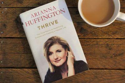 thrive arianna huffington book reivew roseanna sunley