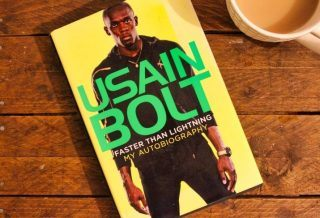 Faster than Lightning My Autobiography by Usain Bolt book review roseanna sunley