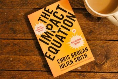 The Impact Equation by Chris Brogan and Julien Smith roseanna sunley book review