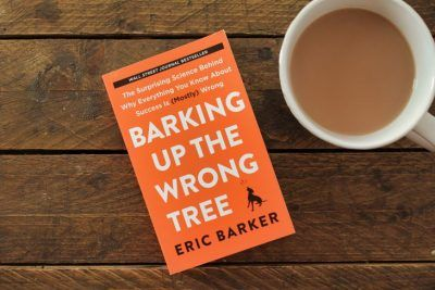 Barking Up The Wrong Tree by Eric Barker roseanna sunley busness book reviews