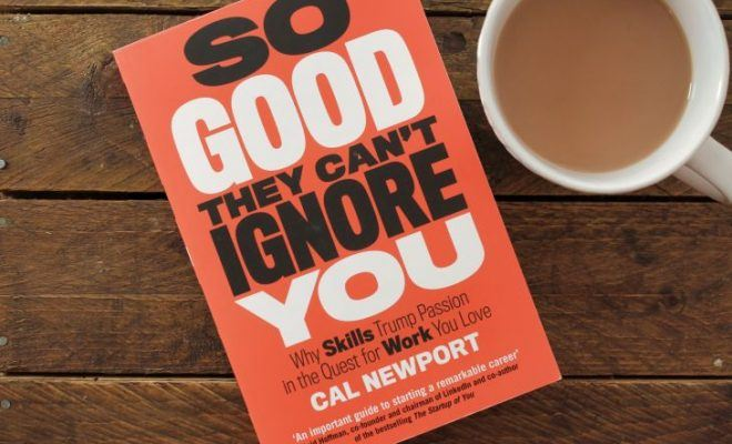 Why I Stopped Reading So Good They Can't Ignore You by Cal Newport After 26 Pages