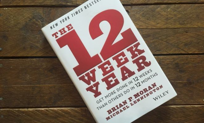 The 12 Week Year by Brian P. Moran & Michael Lennington roseanna sunley business book reviews