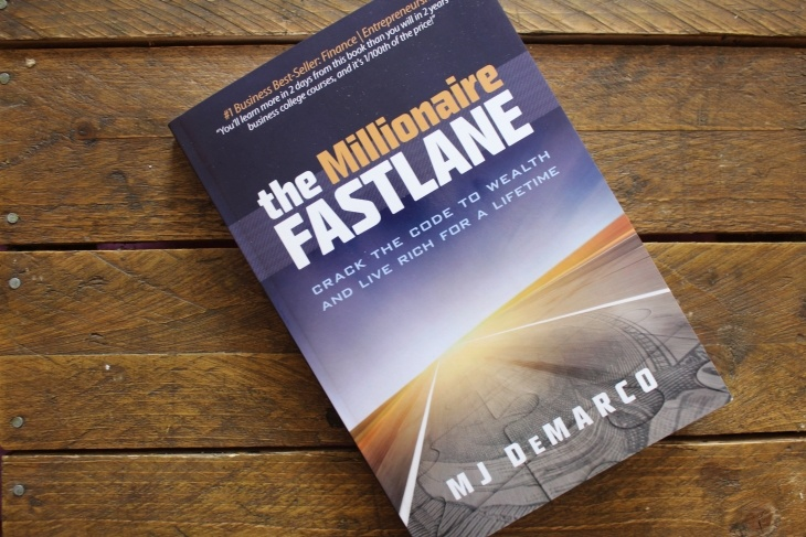 The Millionaire Fastlane by MJ DeMarco roseanna sunley business book reviews