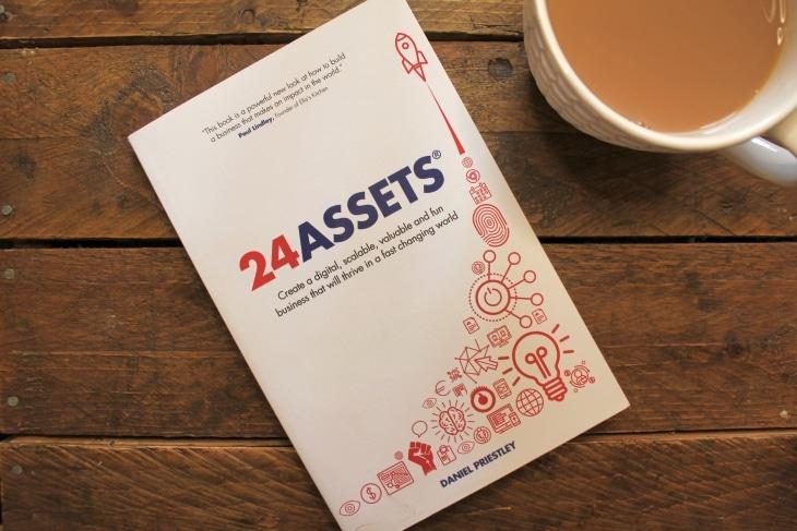 24 Assets by Daniel Priestley roseanna sunley business book reviews