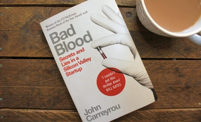 Bad Blood by John Carreyrou roseanna sunley business book reviews