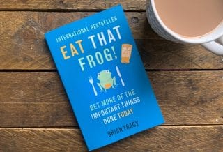 Eat That Frog by Brian Tracy Roseanna Sunley Business Book Reviews